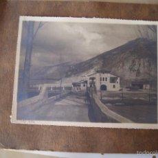 Fotografía antigua: FOTOGRAFIA ANTIGUA CASA DE PUEBLO EN MONTAÑA. Lote 57471589
