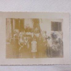 Fotografía antigua: BONITA FOTO. FAMILIA. Lote 57504260