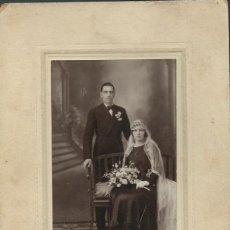 Fotografía antigua: EXTRAORDINARIA FOTOGRAFIA ANTIGUA DE UNA BODA FOTO -MERA - CAVA BAJA,42 - MADRID - DE 1910 - 20. Lote 57567435