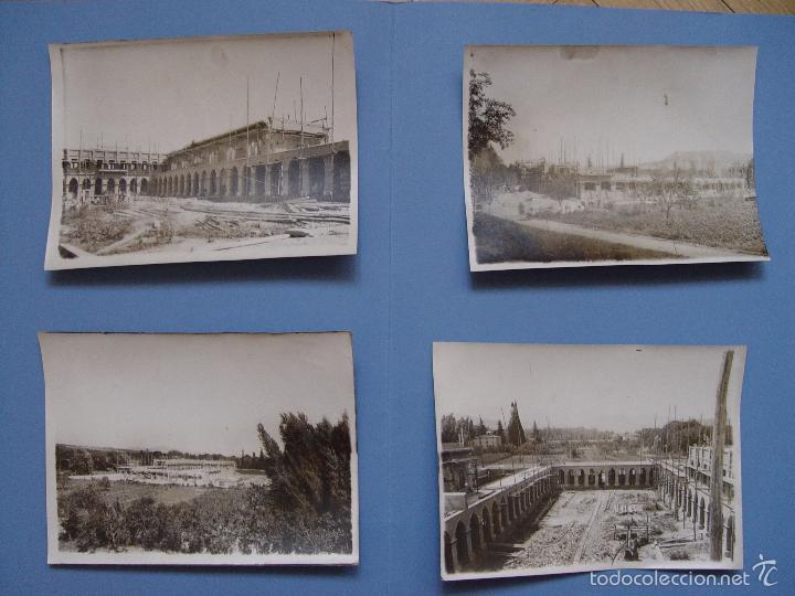 4 FOTOGRAFÍAS ANTIGUAS: ALBELDA DE IREGUA -LA RIOJA- (ARANSAY, 1929) 17X13 CMS. ¡ORIGINALES! (Fotografía - Artística)