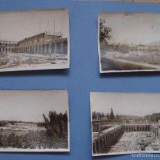Fotografía antigua: 4 FOTOGRAFÍAS ANTIGUAS: ALBELDA DE IREGUA -LA RIOJA- (ARANSAY, 1929) 17X13 CMS. ¡ORIGINALES!. Lote 57804616