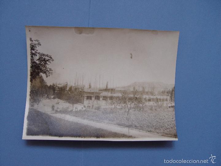 Fotografía antigua: 4 fotografías antiguas: Albelda de Iregua -La Rioja- (Aransay, 1929) 17x13 cms. ¡Originales! - Foto 5 - 57804616