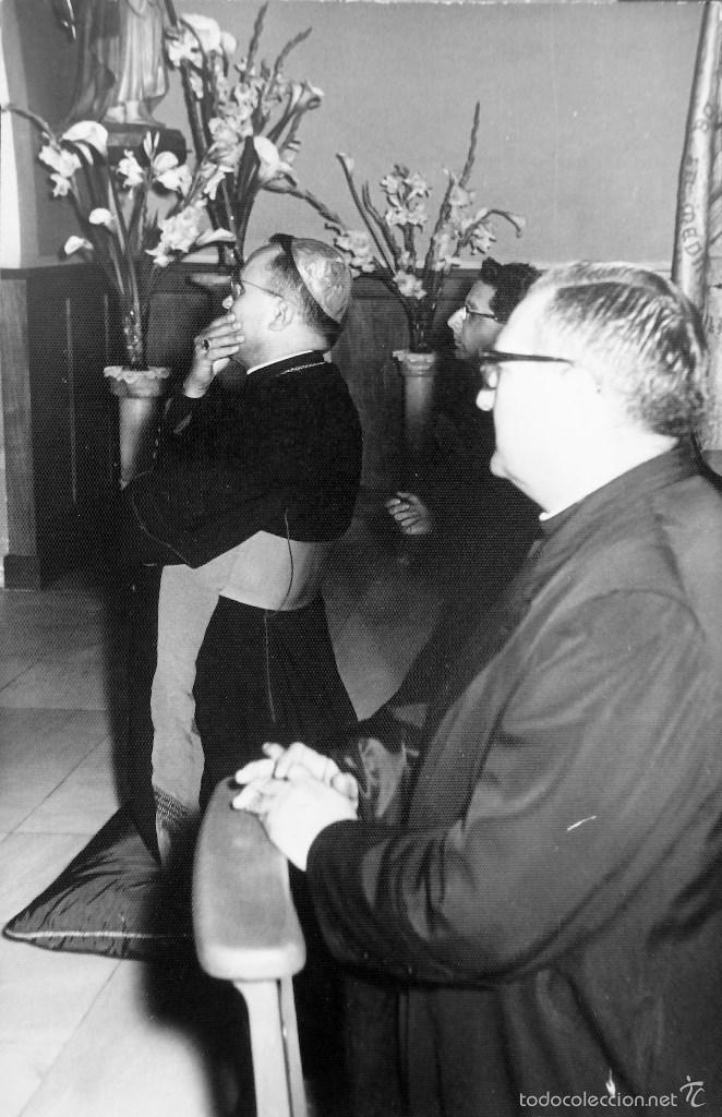 Fotografía antigua: LOTE DE CINCO FOTOGRAFIAS RELIGIOSOS ,SACERDOTES - Foto 2 - 57999163