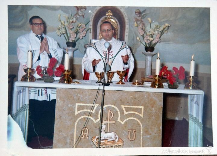 Fotografía antigua: LOTE DE CINCO FOTOGRAFIAS RELIGIOSOS ,SACERDOTES - Foto 3 - 57999163