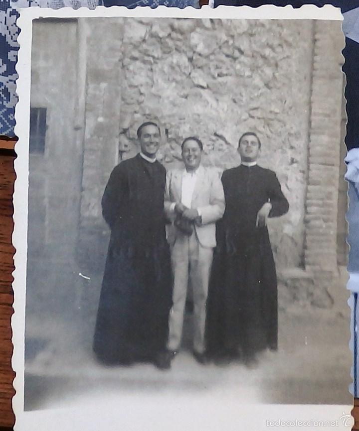 Fotografía antigua: LOTE DE CINCO FOTOGRAFIAS RELIGIOSOS ,SACERDOTES - Foto 5 - 57999163
