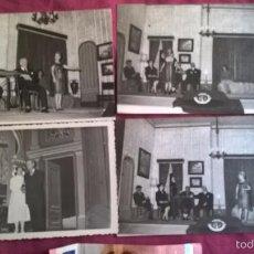 Fotografía antigua: VALENCIA. 4 FOTOS DE TEATRO. ISABEL TORTAJADA. ENGUIDANOS FOTÓGRAFO. Lote 58209311