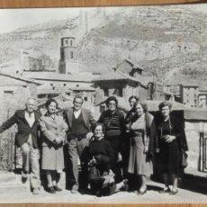 Fotografía antigua: ALBARRACIN - LOTE 13 FOTOS. Lote 110439202