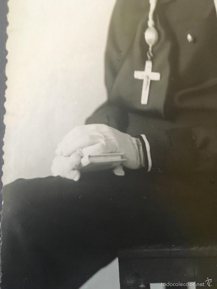 Fotografía antigua: antigua foto niño primera comunion 1939 marinero cruz - Foto 4 - 58337315