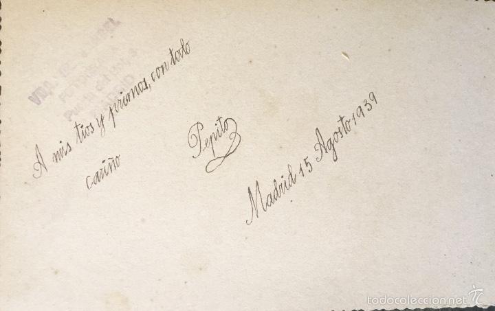 Fotografía antigua: antigua foto niño primera comunion 1939 marinero cruz - Foto 8 - 58337315