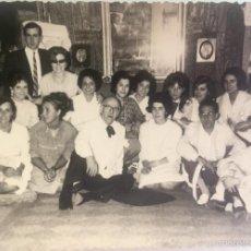 Fotografía antigua: GRUPO ESTUDIANTES ESTUDIO PINTURA PINTORES MANUEL CONCHA MARIA GUTIERREZ NAVAS Y OTROS MADRID 1960. Lote 58565207