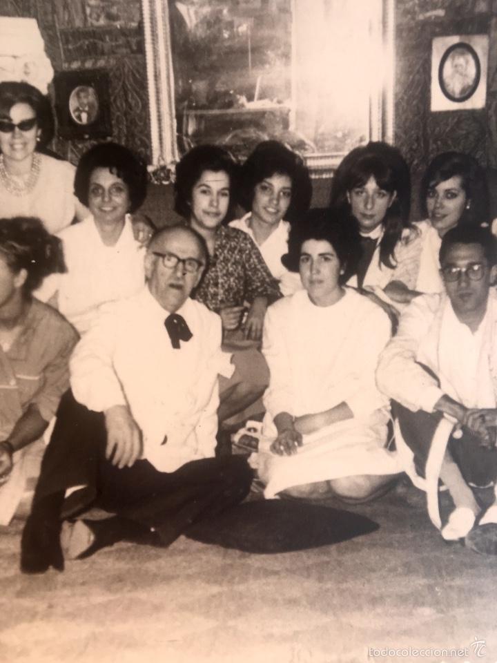 Fotografía antigua: Grupo estudiantes estudio pintura pintores manuel concha maria gutierrez navas y otros madrid 1960 - Foto 5 - 58565207