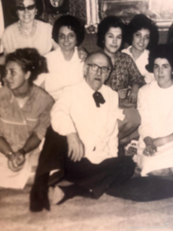 Fotografía antigua: Grupo estudiantes estudio pintura pintores manuel concha maria gutierrez navas y otros madrid 1960 - Foto 6 - 58565207