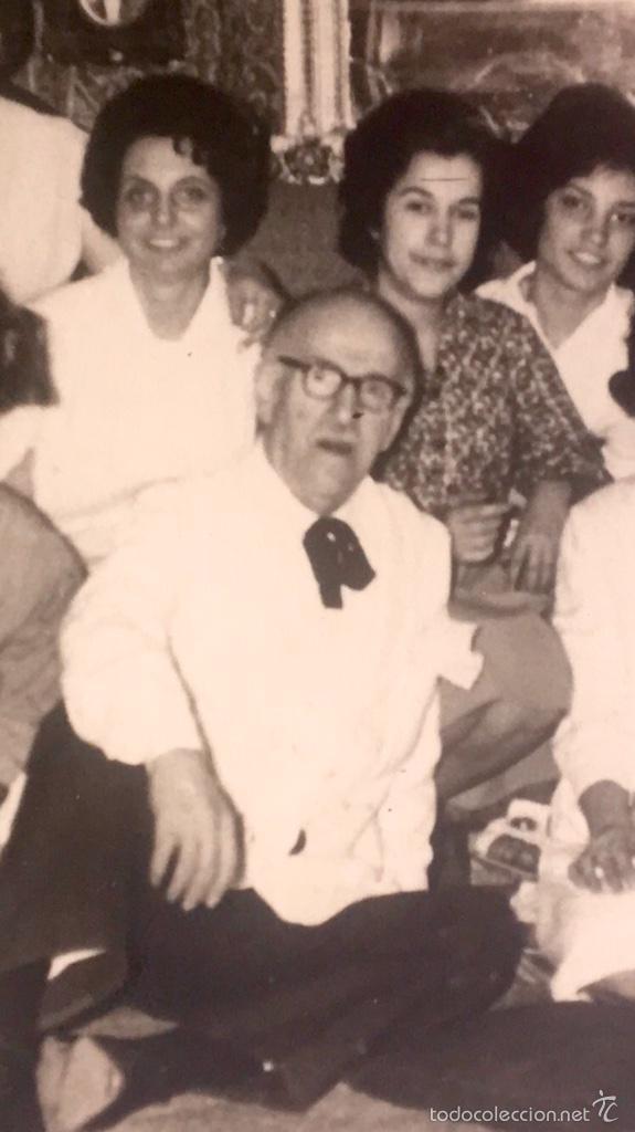 Fotografía antigua: Grupo estudiantes estudio pintura pintores manuel concha maria gutierrez navas y otros madrid 1960 - Foto 8 - 58565207