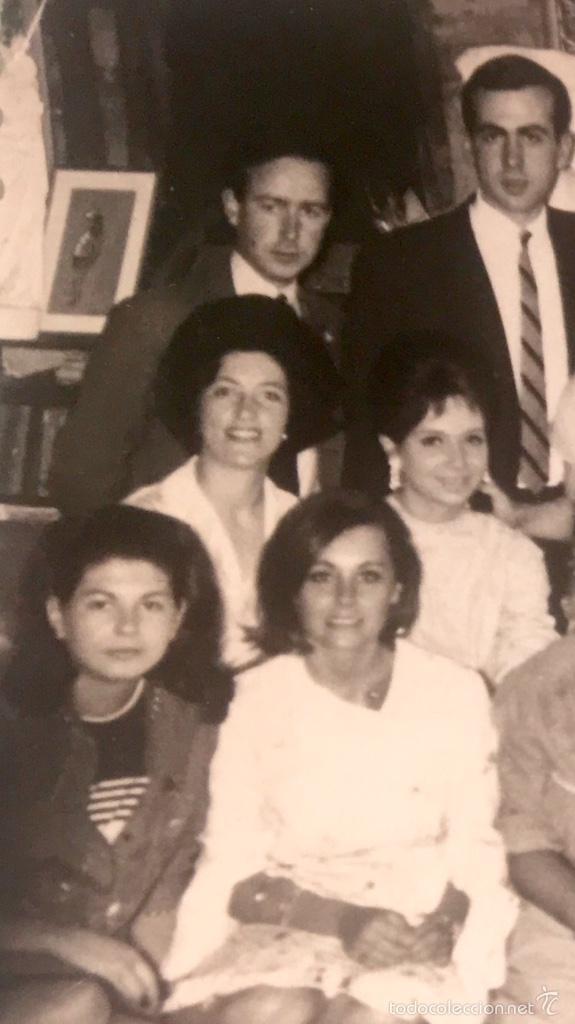 Fotografía antigua: Grupo estudiantes estudio pintura pintores manuel concha maria gutierrez navas y otros madrid 1960 - Foto 10 - 58565207