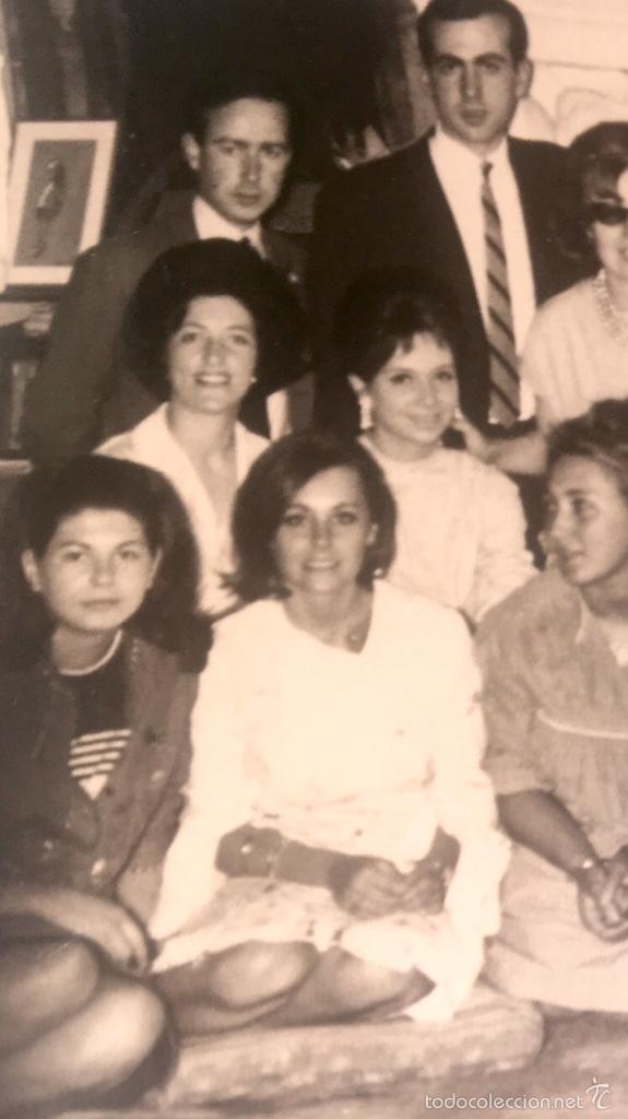 Fotografía antigua: Grupo estudiantes estudio pintura pintores manuel concha maria gutierrez navas y otros madrid 1960 - Foto 11 - 58565207
