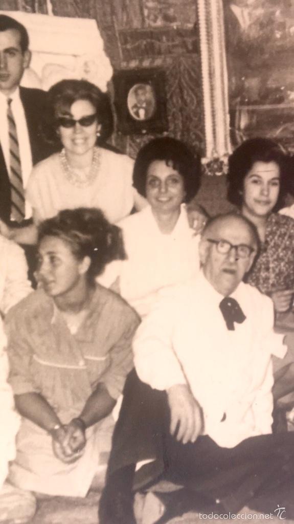 Fotografía antigua: Grupo estudiantes estudio pintura pintores manuel concha maria gutierrez navas y otros madrid 1960 - Foto 12 - 58565207