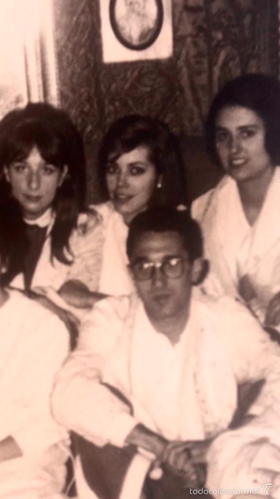 Fotografía antigua: Grupo estudiantes estudio pintura pintores manuel concha maria gutierrez navas y otros madrid 1960 - Foto 15 - 58565207