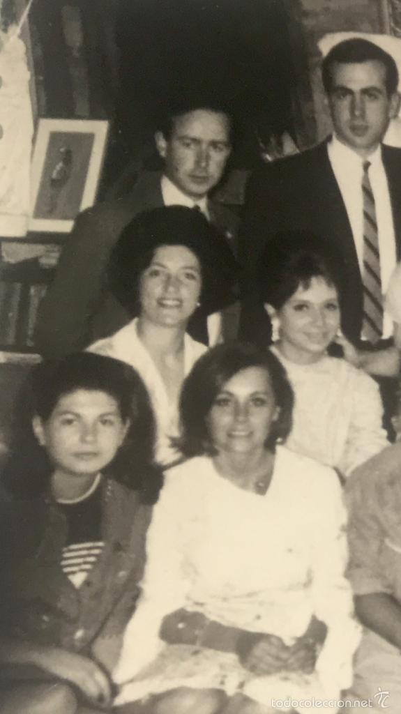 Fotografía antigua: Grupo estudiantes estudio pintura pintores manuel concha maria gutierrez navas y otros madrid 1960 - Foto 18 - 58565207
