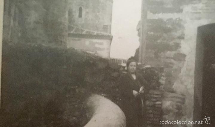 Fotografía antigua: monasterio parador de guadalupe 1956 caceres medieval en piedra foto en blanco y negro 10x7 - Foto 3 - 58568698