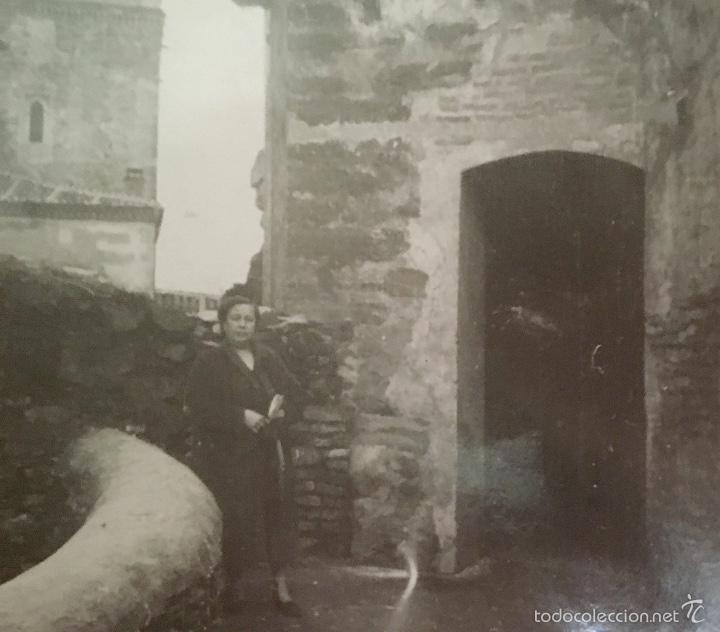 Fotografía antigua: monasterio parador de guadalupe 1956 caceres medieval en piedra foto en blanco y negro 10x7 - Foto 4 - 58568698
