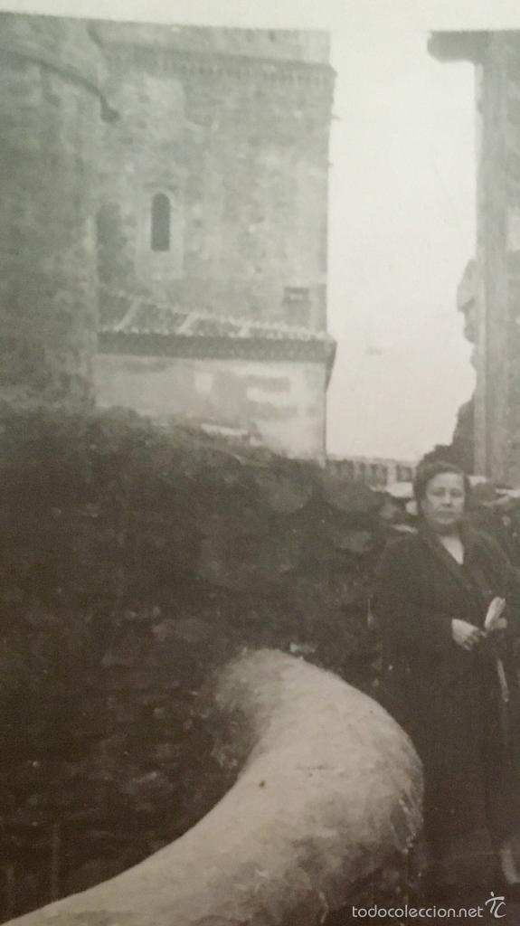 Fotografía antigua: monasterio parador de guadalupe 1956 caceres medieval en piedra foto en blanco y negro 10x7 - Foto 7 - 58568698