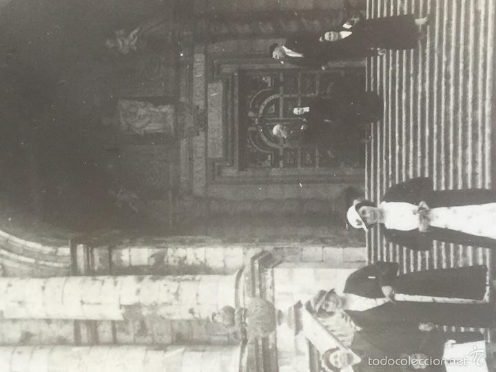 Fotografía antigua: Loiola Loyola Azpeitia Guipuzcoa Iglesia Basilica santuario San ignacio 1920 Barroco familia Lazaro - Foto 2 - 58641593