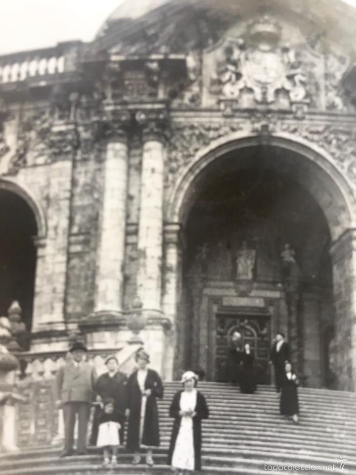 Fotografía antigua: Loiola Loyola Azpeitia Guipuzcoa Iglesia Basilica santuario San ignacio 1920 Barroco familia Lazaro - Foto 4 - 58641593