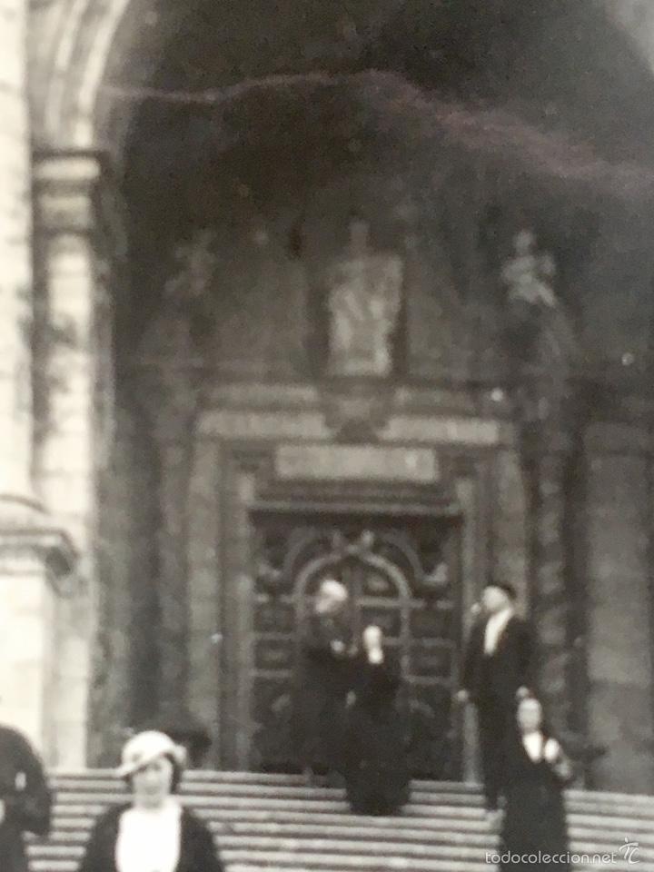 Fotografía antigua: Loiola Loyola Azpeitia Guipuzcoa Iglesia Basilica santuario San ignacio 1920 Barroco familia Lazaro - Foto 5 - 58641593