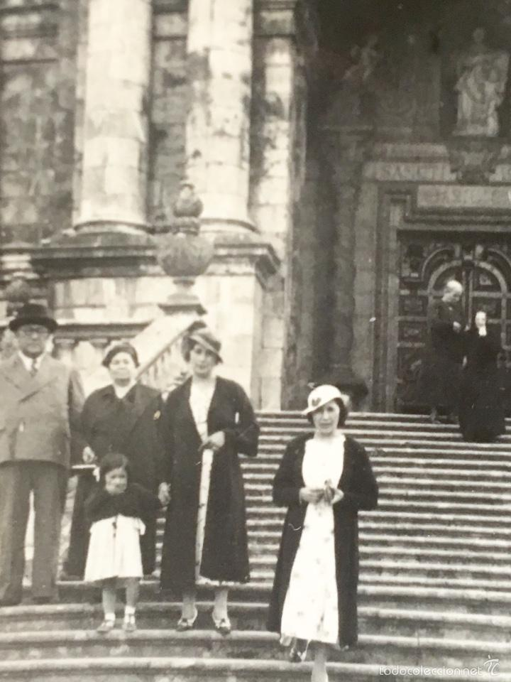 Fotografía antigua: Loiola Loyola Azpeitia Guipuzcoa Iglesia Basilica santuario San ignacio 1920 Barroco familia Lazaro - Foto 6 - 58641593