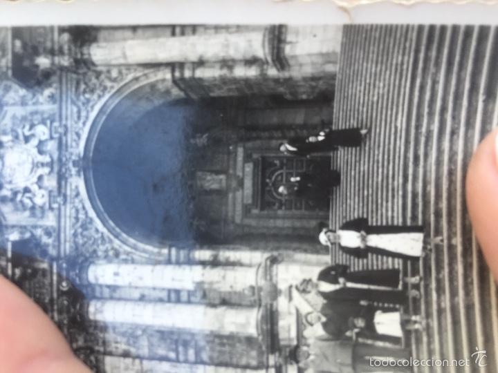 Fotografía antigua: Loiola Loyola Azpeitia Guipuzcoa Iglesia Basilica santuario San ignacio 1920 Barroco familia Lazaro - Foto 8 - 58641593