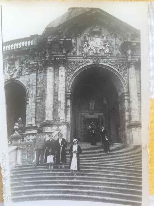 LOIOLA LOYOLA AZPEITIA GUIPUZCOA IGLESIA BASILICA SANTUARIO SAN IGNACIO 1920 BARROCO FAMILIA LAZARO (Fotografía - Artística)