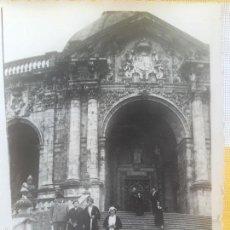 Fotografía antigua: LOIOLA LOYOLA AZPEITIA GUIPUZCOA IGLESIA BASILICA SANTUARIO SAN IGNACIO 1920 BARROCO FAMILIA LAZARO. Lote 58641593