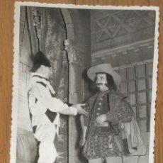 Fotografía antigua: INTERPRETACION TEATRAL - FOTO: ENGUIDANOS - VALENCIA. Lote 58661880