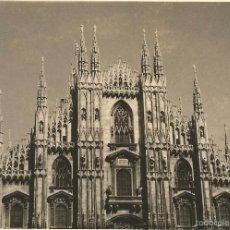 Fotografía antigua: ** S137 - FOTOGRAFIA - PAISAJE - EL DUOMO - MILAN 1963. Lote 59426590