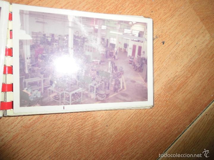 Fotografía antigua: ALBUM 12 FOTOGRAFIAS FABRICA MAQUINAS VALENCIA OFICIOS MECANTEX CONSTRUCCION ERLO NECANICA - Foto 5 - 41073371
