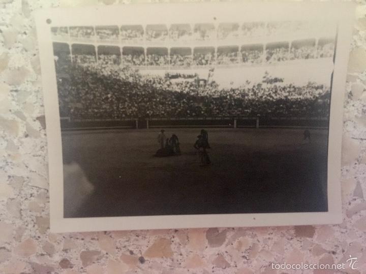 Fotografía antigua: Toros foto plaza de las ventas 1950 corrida toreros gradas 6,1x5 - Foto 2 - 59623887