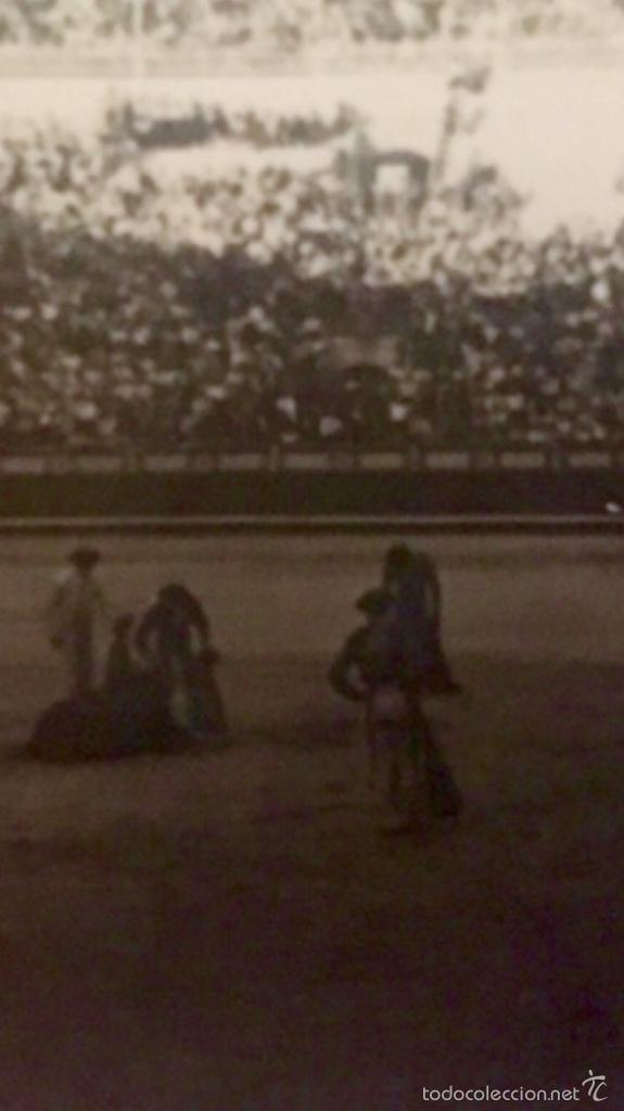 Fotografía antigua: Toros foto plaza de las ventas 1950 corrida toreros gradas 6,1x5 - Foto 5 - 59623887