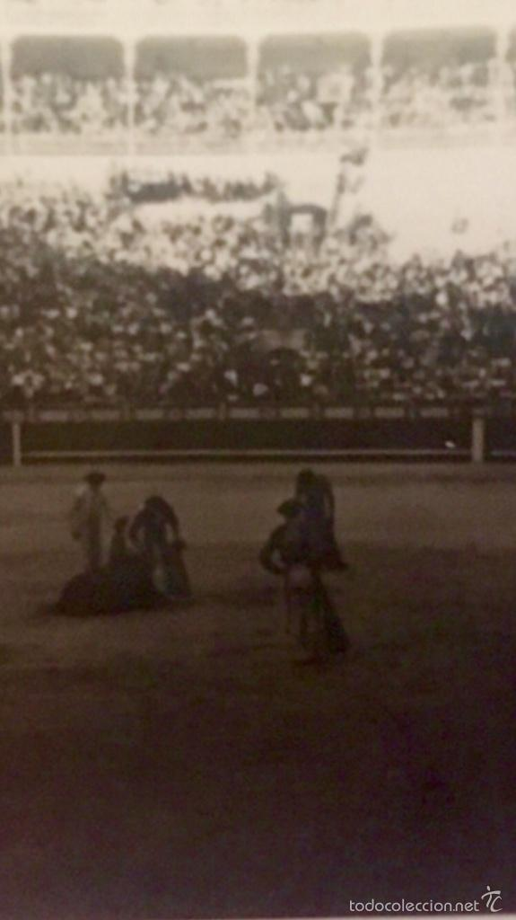 Fotografía antigua: Toros foto plaza de las ventas 1950 corrida toreros gradas 6,1x5 - Foto 6 - 59623887