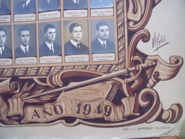 Fotografía antigua: JULIO DERREY.-FOTOGRAFO.-VALENCIA.-FACULTAD DE DERECHO DE VALENCIA.-FOTOGRAFIA.-118 FOTOS.-AÑO 1949. - Foto 3 - 60367575