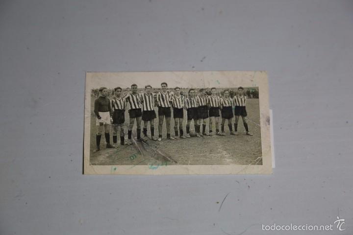 FOTO ORIGINAL EQUIPO DE FUTBOL ANIS ESPRONCEDA 1951. MEDIDA 9X5,5CM (Fotografía - Artística)