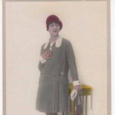 Fotografía antigua: LOTE DE 41 FOTOGRAFÍAS ANTIGUAS. TODAS ANTERIORES A 1920 - 30 Y ALGUNAS COLOREADAS. VER FOTOS. Lote 60498019