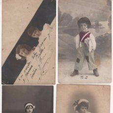 Fotografía antigua: LOTE DE 21 FOTOGRAFÍAS ANTIGUAS CON NIÑOS. AÑOS 1910 - 1920. Lote 60503187