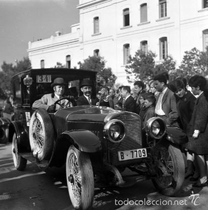 Fotografía antigua: 44 Fotos del Rally de coches antiguos de Sitges, años 1964, 1967 y 1971. Negativos en color y BN - Foto 3 - 60541827