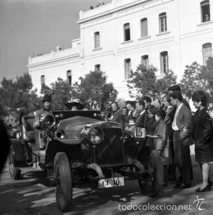 Fotografía antigua: 44 Fotos del Rally de coches antiguos de Sitges, años 1964, 1967 y 1971. Negativos en color y BN - Foto 14 - 60541827