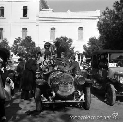 Fotografía antigua: 44 Fotos del Rally de coches antiguos de Sitges, años 1964, 1967 y 1971. Negativos en color y BN - Foto 15 - 60541827
