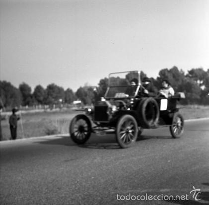 Fotografía antigua: 44 Fotos del Rally de coches antiguos de Sitges, años 1964, 1967 y 1971. Negativos en color y BN - Foto 16 - 60541827