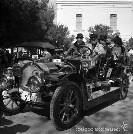 Fotografía antigua: 44 Fotos del Rally de coches antiguos de Sitges, años 1964, 1967 y 1971. Negativos en color y BN - Foto 17 - 60541827