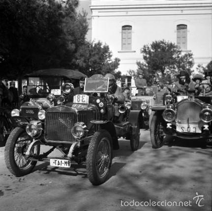 Fotografía antigua: 44 Fotos del Rally de coches antiguos de Sitges, años 1964, 1967 y 1971. Negativos en color y BN - Foto 18 - 60541827