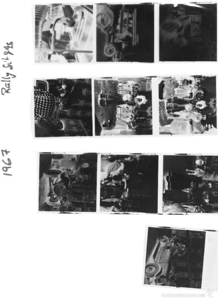 Fotografía antigua: 44 Fotos del Rally de coches antiguos de Sitges, años 1964, 1967 y 1971. Negativos en color y BN - Foto 25 - 60541827
