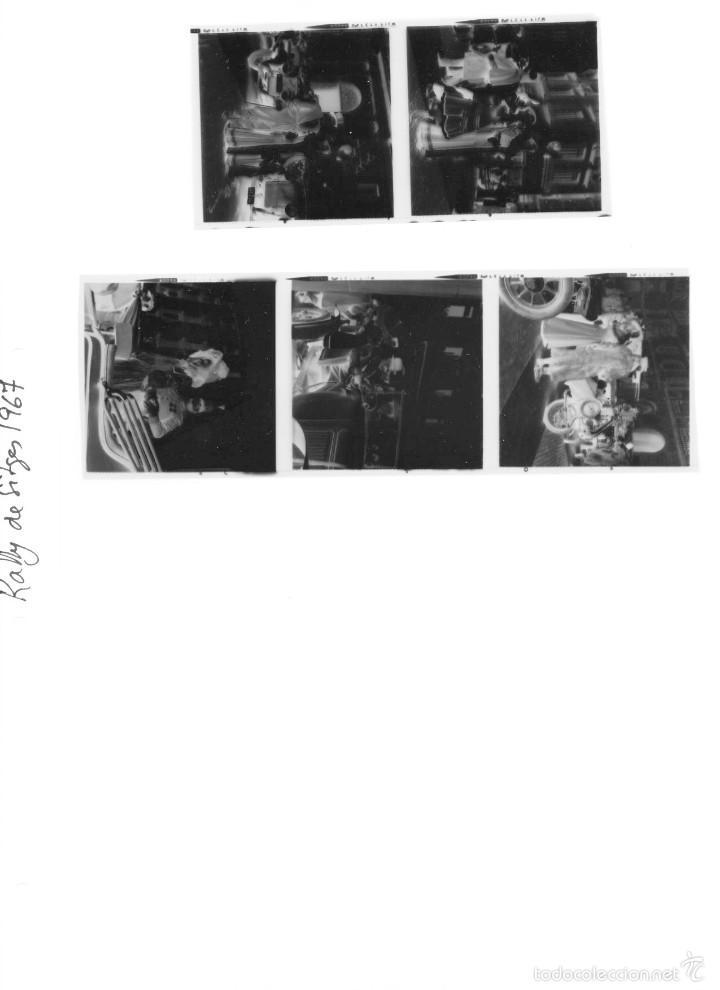 Fotografía antigua: 44 Fotos del Rally de coches antiguos de Sitges, años 1964, 1967 y 1971. Negativos en color y BN - Foto 26 - 60541827
